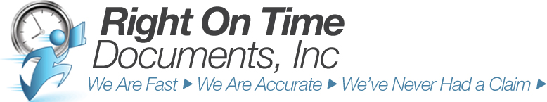 Right On Time Documents, Inc